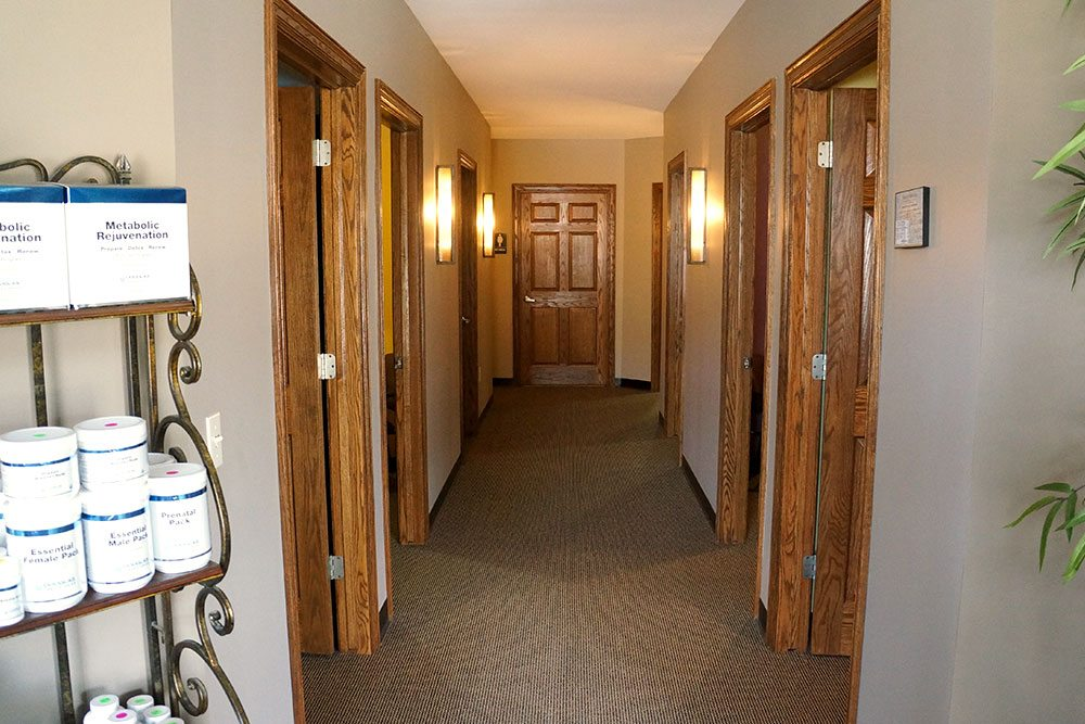 Hallway at Balanced Body Acupuncture & Chiropractic in Omaha, NE