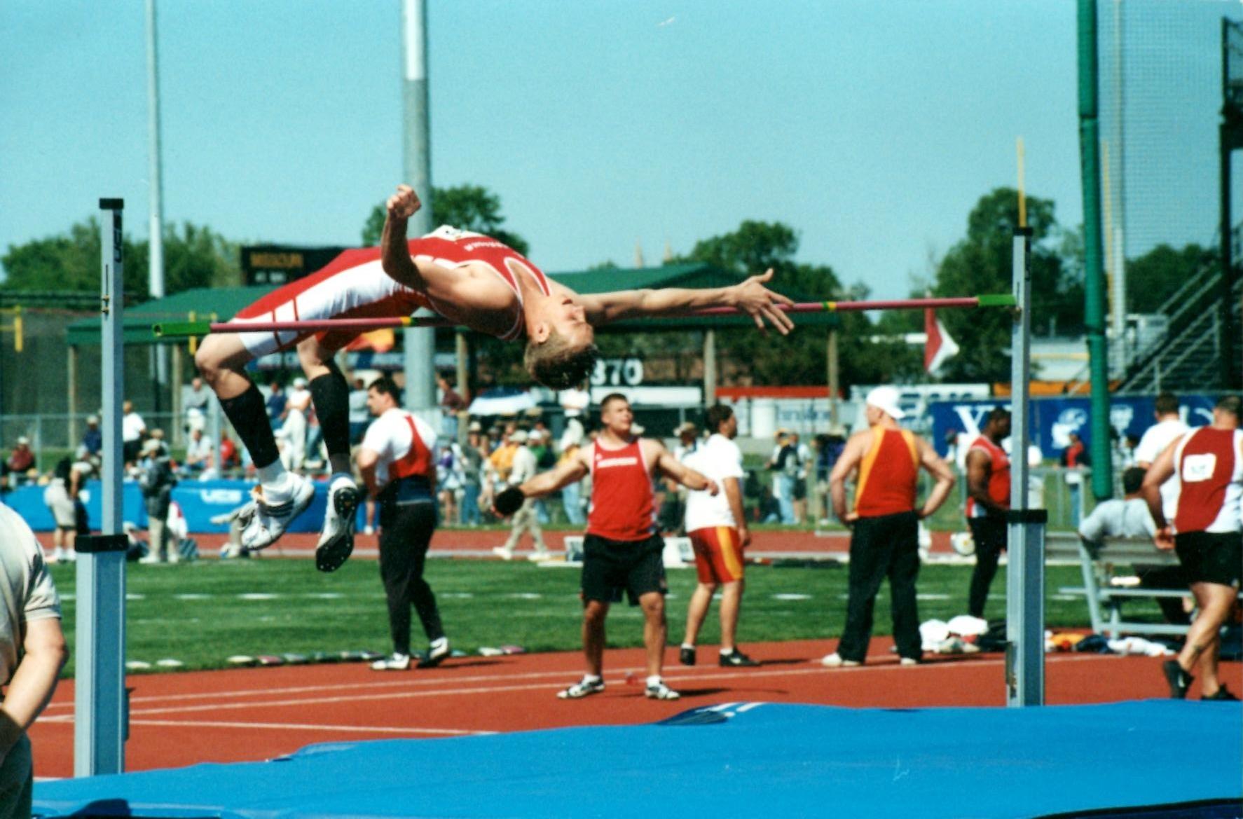 travis high jump